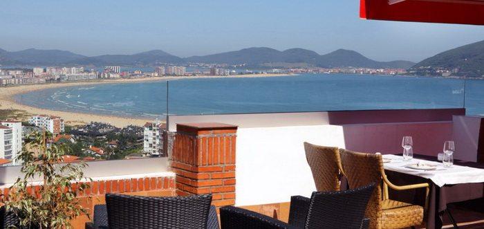 Hotel El Risco, Ofertas especiales en Escapadas románticas a Laredo, Hotel en Laredo con vistas al mar Cantabria