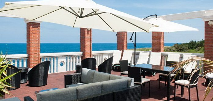 Hotel Torre Cristina, Hoteles en primera linea de mar en Noja playa