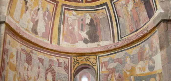 Iglesia Románica de Mata de Hoz, Iglesia de San Juan Bautista (Mata de Hoz)