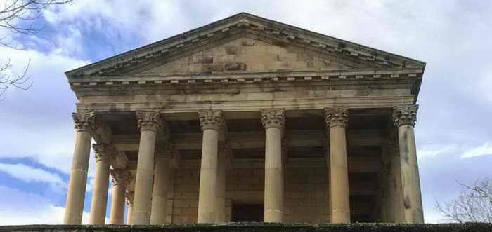 Iglesia de San Jorge Las Fraguas, Partenón de las Fraguas