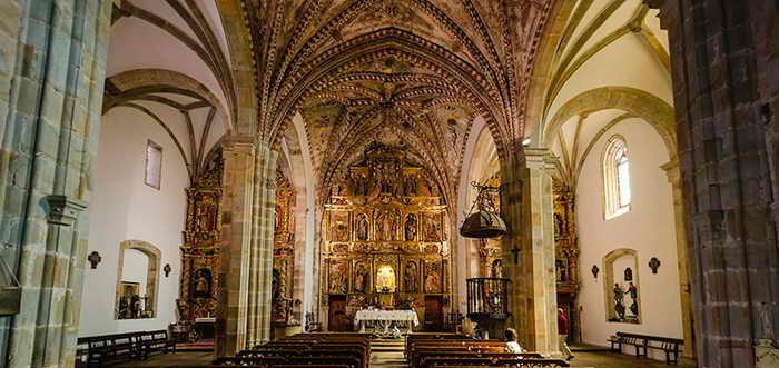 Iglesia de Santa María de Miera, Iglesia de Santa María (La Cárcoba)