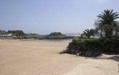 Playa El Sable Quejo Isla Cantabria Cantabriarural