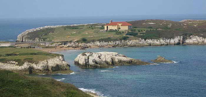 Playa La Virgen del Mar, Playas de Santander (Cantabria)