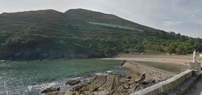 Playa de Dícido Castro Urdiales, Playa en Mioño (Cantabria)