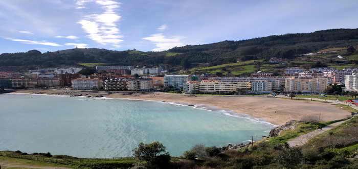 Playa de Ostende, Playas de Castro Urdiales (Cantabria)