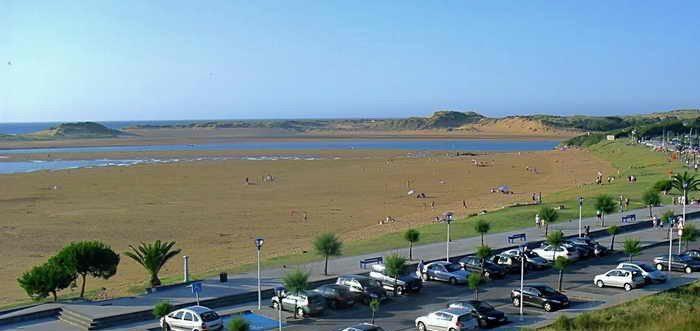 Playa de Usil Mogro, Playa Mogro Usil en Miengo Cantabria