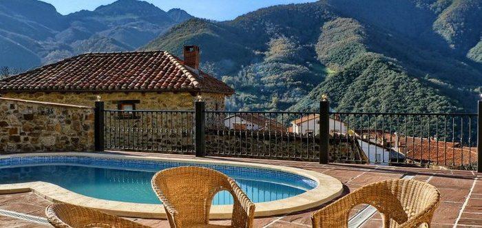 Posada valle del oso posada rural con piscina en lerones - Piscinas en santander ...