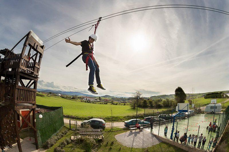 Albergue paradiso, Albergue en Suances con actividades para niños