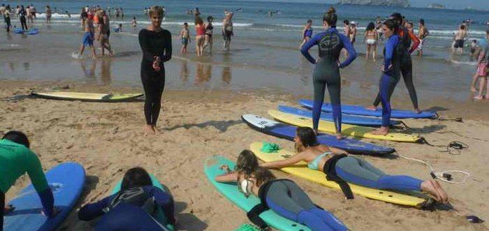 Biosurfcamp, Escuela de surf y surfcamp en Suances, Surf en Suances