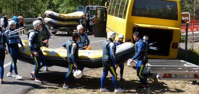H2Ur Turismo Activo, Rafting en Cantabria río Ebro, Rafting en Cantabria