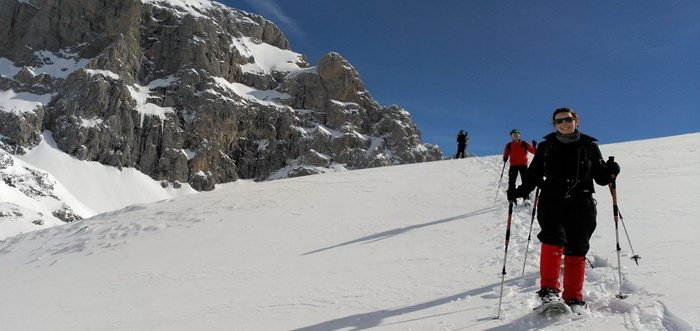 Picos Xtreme Raquetas de nieve Picos de Europa Cantabria