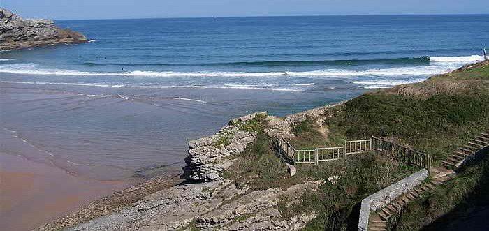 Playa de Cuberris Ajo, Playa de Ajo o Cuberris (Cantabria)