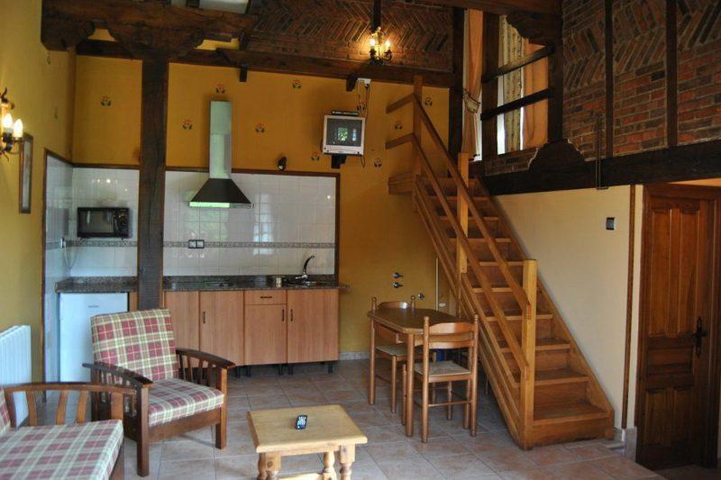 La Hila del Cucal Apartamentos rurales en Mijares Santillana del Mar (Cantabria) Salón