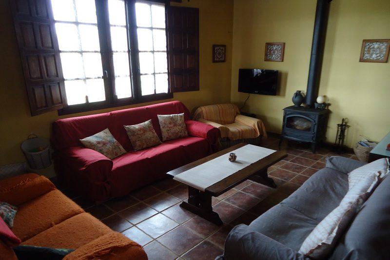 Casa rural Hualdea, Casa rural en Villapresente (Cantabria) Salón