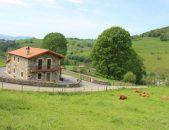 Casa rural La Cabaña del Abuelo Casa rural en Selaya Valles pasiegos Cantabria Exterior