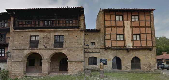 Casas del Aguila y la Parra Santillana del Mar, Santillana del Mar lugares más visitados