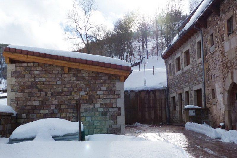 Casas rurales Las Cervalizas Casas rurales en Entrambasaguas Campoo Exterior