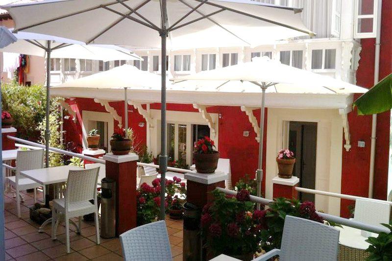 Hotel Marina de Campio, Hotel con restaurante en Comillas Cantabria Terraza