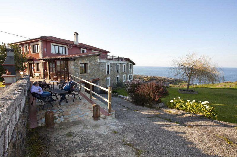 Posada Punta Linera Posada rural en san Vicente de la Barquera Cantabria  Exterior