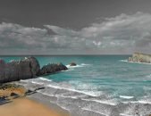 Playa de la Arnia en Pielagos Cantabria