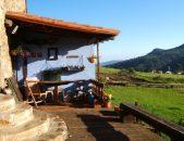 Albergue rural La Tejedora Albergue rural en Ojebar cantabria vistas del valle