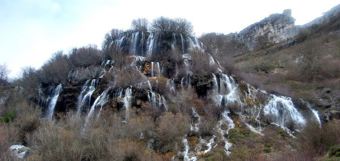 Cascada del Tobazo en Valderredible, Que ver en Valderredible (Cantabria) lugares de interes