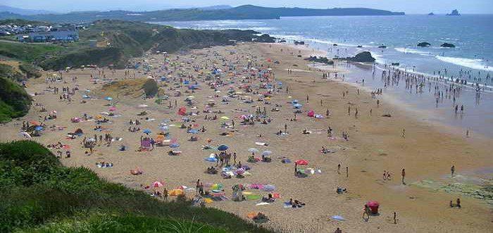 Playa de Canallave,Playas de Liencres Pielagos (Cantabria)