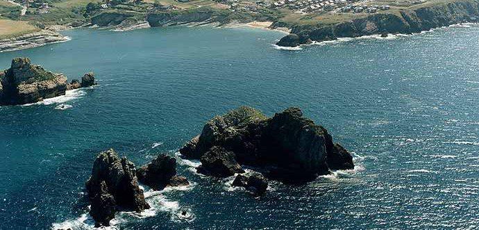 Playa de Cerrias, Playas de Pielagos (Cantabria)
