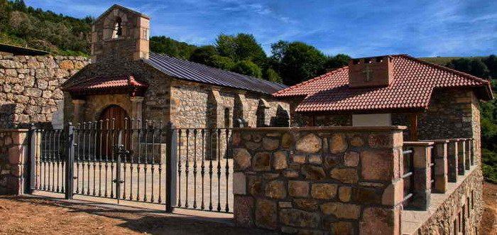Santuario de la Virgen de la Luz en Aniezo Liebana Cantabria