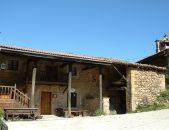 Fachada principal de la Casa rural en Cicera Posada La Escuela de Cicera