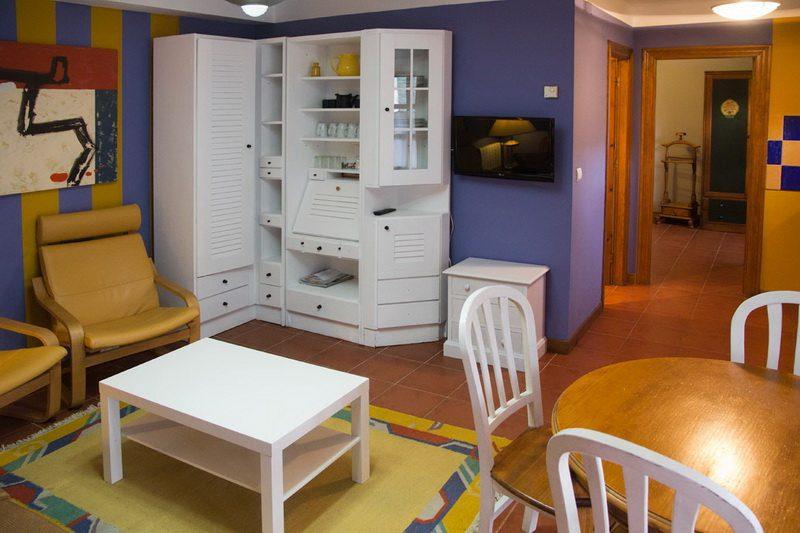 Sala de estar de Apartamentos rurales en Potes