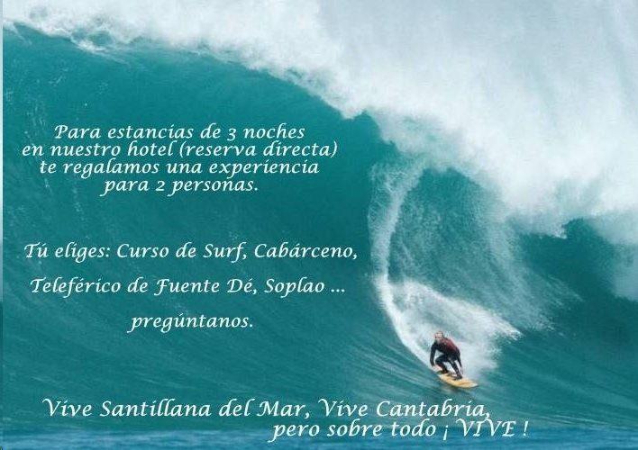 Gratis una experiencia para 2 personas con tu estancia de 3 noches o más de abril a junio en Santillana del Mar.