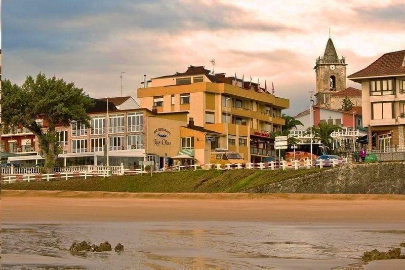 Hotel Las Olas Hotel en Noja Cantabria