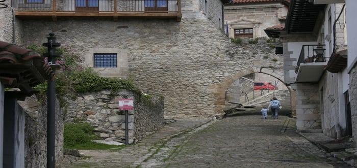 Puebla Vieja, San Vicente de la Barquera. Cantabria