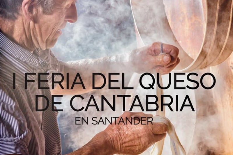 I Feria del Queso de Cantabria en Santander