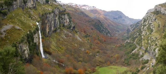 Cascada del Asón, Nacimiento del Río Asón en soba Cantabria