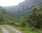 Cascada del Asón Nacimiento del rio Asón