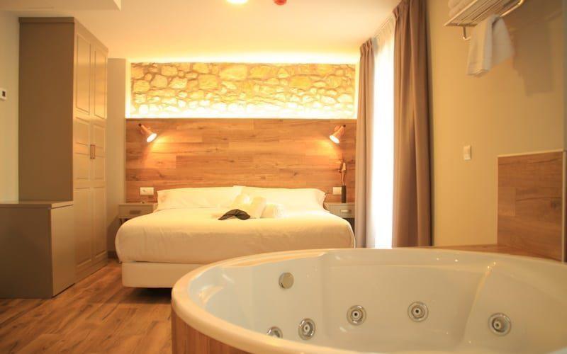 Habitación Premium con Jacuzzi redondo para 2 personas