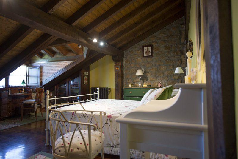 Habitación de matrimonio de Casa rural Solallosa 112