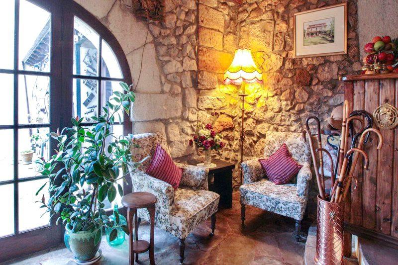 Salón de Posada Mies de Villa Posada en Somo Cantabria