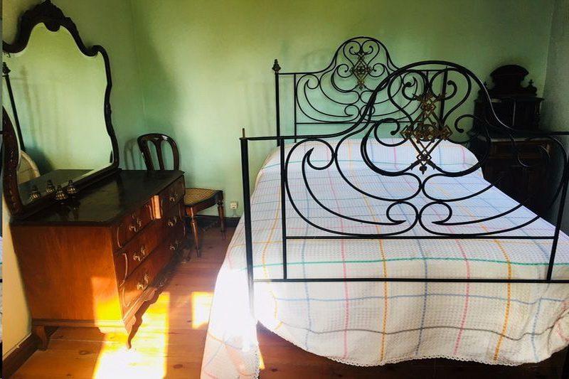 Habitación con cama de matrimonio de Casa Santa Catalina