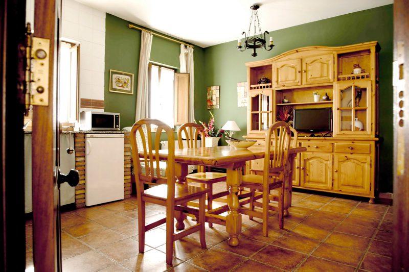 Salón cocina de Apartamentos La Gloria