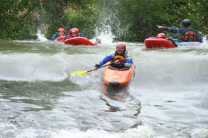 Rafting en el Albergue Cantabria Aventura