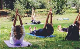 Casa rural taller gratis yoga y pilates