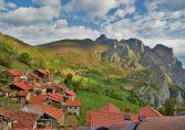 Vista panorámica de Cucayo donde se encuentran las Viviendas rurales EL Canton
