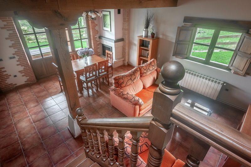 Interior de la casa rural La Casa de Bustantegua Casa rural en Cantabria