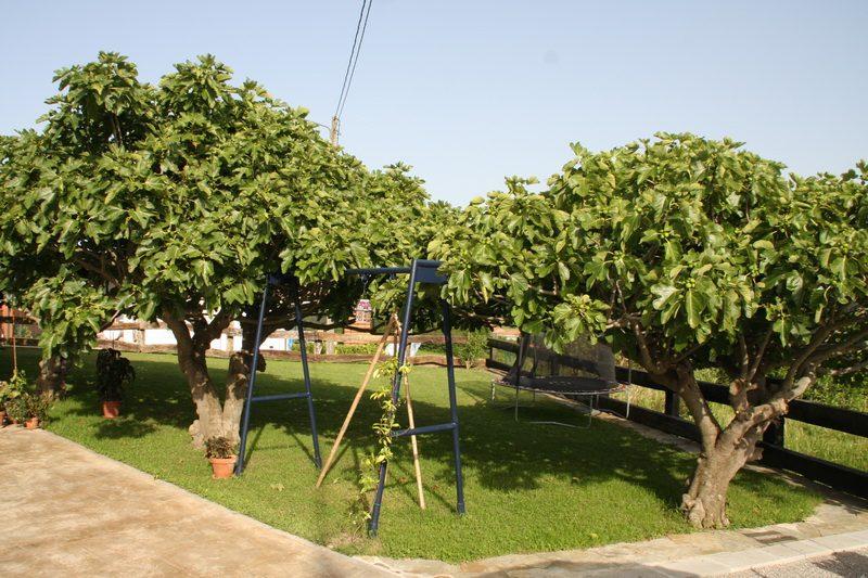 Jardín de La Casa de Mamima posada en Miengo Cantabria