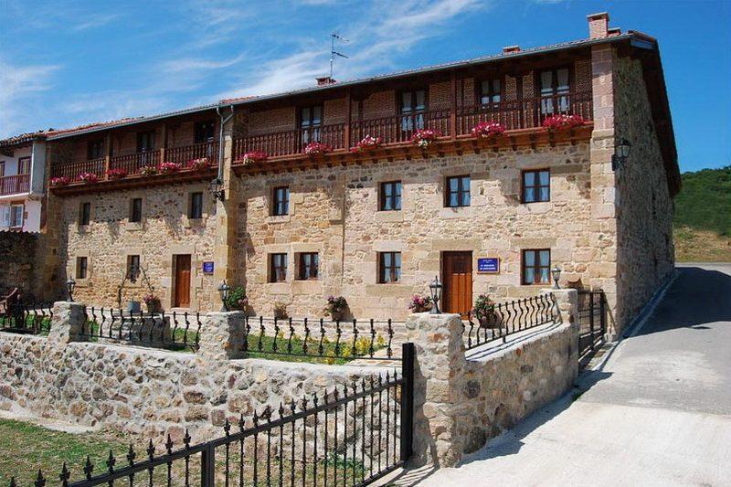 Vista general de la fachad de la casa rural El Mirador de Lanchares