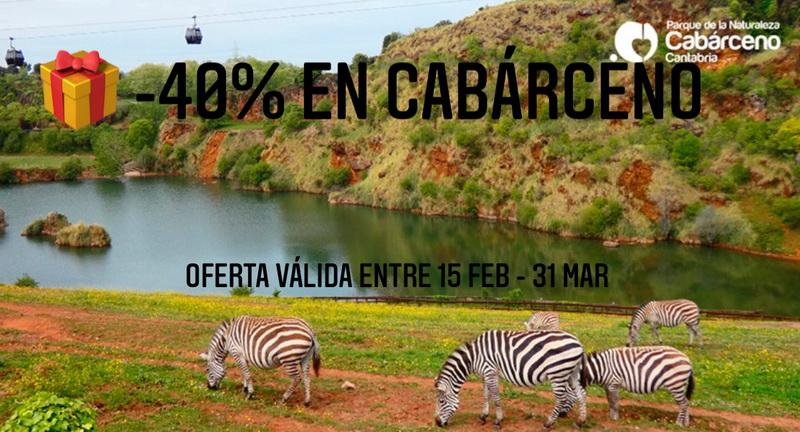 ¡¡40 % descuento en Cabárceno!!