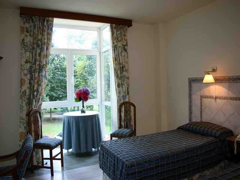 Habitaciones del Balneario Hotel Parque de Alceda